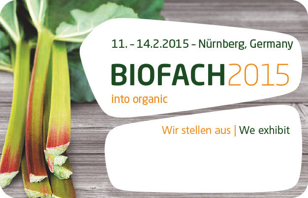 BIOFACH – 2015, World's leading Trade Fair for Organic Food